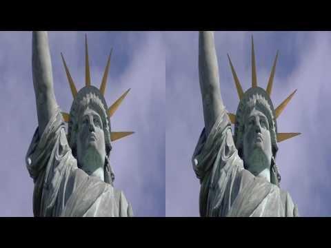 Paris Ile aux Cygnes 2013 3D