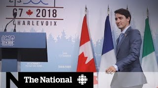 Trump's G7 tweet storm prompts support for Trudeau