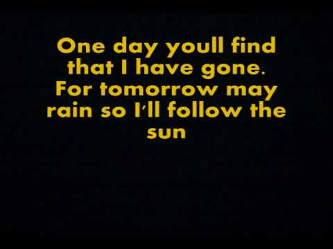 I'll Follow the Sun - The Beatles [with lyrics]