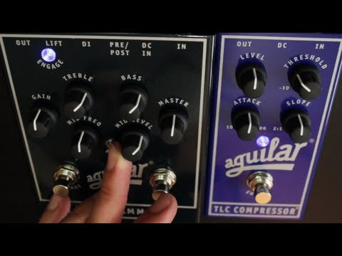 aguilar tlc compressor tone hammer with norm stockton youtube. Black Bedroom Furniture Sets. Home Design Ideas