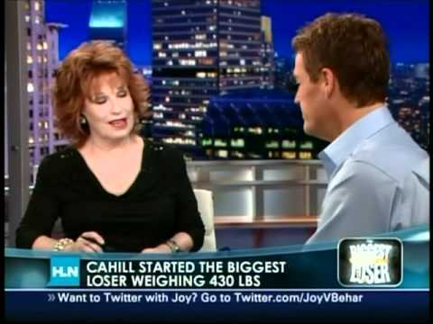 Danny Cahill, Biggest Loser on the Joy Behar show - YouTube