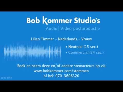 Lilian Timmer   Nederlands   Voice over stemdemo