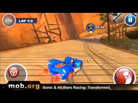 sonic and sega all stars racing apkpure