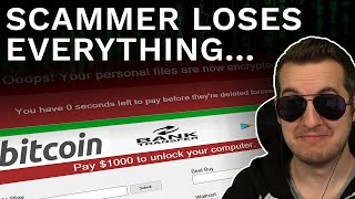 Scammer Loses Everything To Ransomware Virus