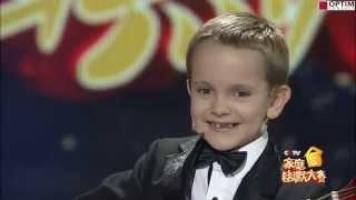 6-ти летний Гордей Колесов на центральном ТВ Китая