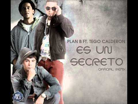 Plan B Ft Tego Calderon - Es Un Secreto (Official Remix) David Da Costa