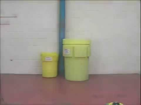 BARR Spill Control Poly Overpack 110 Gallon Salvage Drum