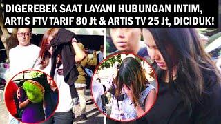 Prostitusi Artis FTV Tarif 80 Juta Digerebek Polda Jatim Saat Layani...