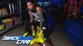 Naomi attacks Mandy Rose: SmackDown LIVE, Jan. 8, 2019