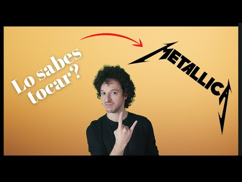Como tocar Nothing else matters de Metallica - Leccion de guitarra - kirk Hammett introduccion