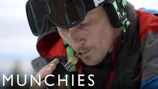 Carving on Cannabis with a Snowboard Gold Medalist