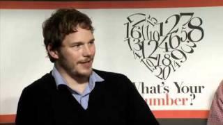 Chris Pratt Loves his Wife, Anna Faris - Celebrity Interview