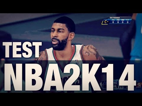 Test de NBA2K14 sur Xbox One - YouTube