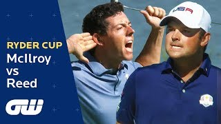 Rory McIlroy vs Patrick Reed Highlights | Ryder Cup 2016 | Golfing World