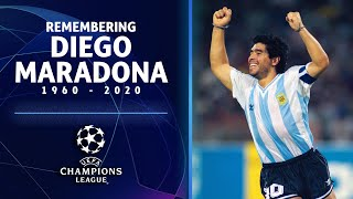 Our UCL team reflects on the life of Diego Maradona  | UCL on CBS Sports