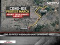 Thousands Flood Bengaluru To Protest DK Shivakumars Arrest, Traffic Hit  - 02:51 min - News - Video