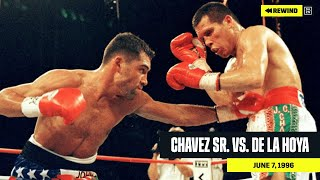 FULL FIGHT | Julio Cesar Chavez Sr. vs. Oscar De La Hoya (DAZN REWIND)