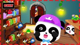 gấu trúc Panda và Monster chơi trốn tìm cu lỳ chơi game lồng tiếng vui nhộn pannda hidden monster