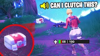 Top 10 LUCKIEST Fortnite CLUTCH MOMENTS OF ALL TIME