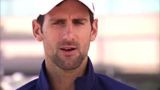 Djokovic, Wawrinka At Media Roundtable