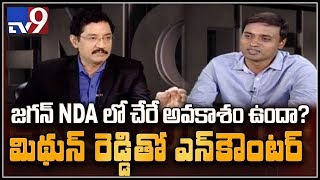 P V Midhun Reddy in Encounter with Murali Krishna..