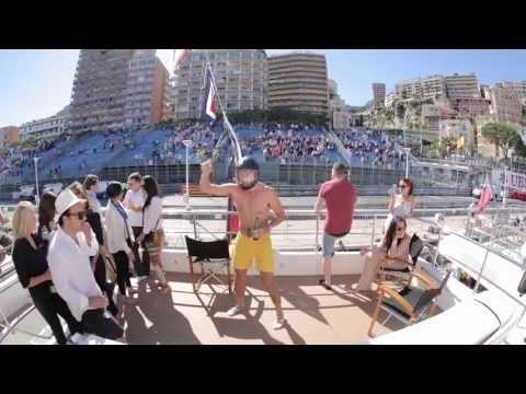 Amber Lounge - Harlem Shake on the Yacht!
