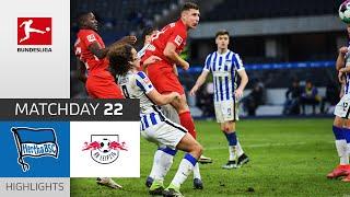 Hertha Berlin - RB Leipzig   0-3   Highlights   Matchday 22 – Bundesliga 2020/21