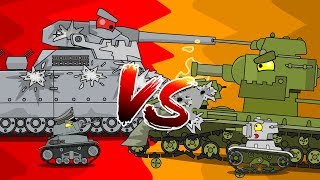 The story of a big rat - Cartoons about tanks
