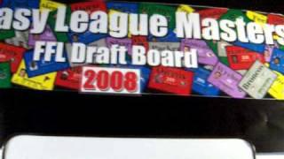 Best Live Fantasy Football Draft Set-up