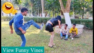 Must Watch New Funny😂 😂Comedy Videos 2019 - Episode 13 - Funny Vines || View Funny Vines