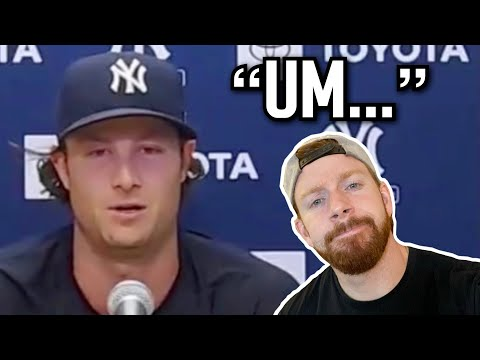 Reacting to Gerrit Cole's Awkward Press Conference About Cheating