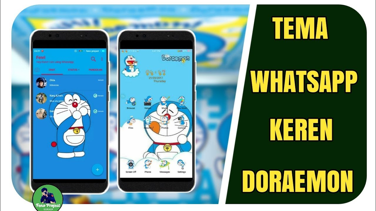 Downloadtemaandroiddoraemon