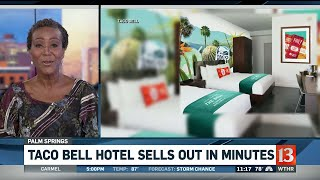 Taco Bell Hotel Sellout