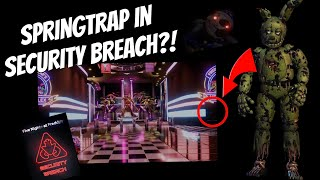 FNaF Security Breach trailer REACTION and ANALYSIS (NEW INFO)