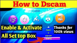 DScam server activation settings for all china 1506 receiver
