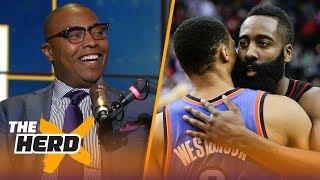 Caron Butler compares Harden to Westbrook, talks LeBron James' next team   NBA   THE HERD