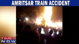 Amritsar: Train runs over Crowd celebrating Dasara, 50 Kil..