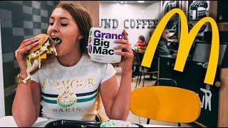 McDonalds Grand Big Mac & Mac Jr - FULL REVIEW!