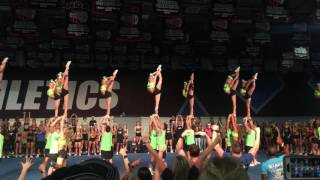 Cheer Athletics Cheetahs Worlds Showoff 2017