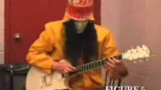 Buckethead's Atonal tapping technique 101