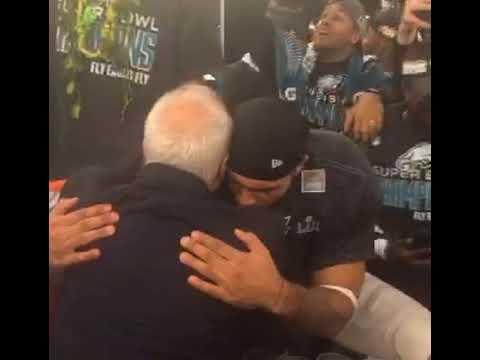 Eagles players sing Meek Mill's 'Dreams and Nightmares' in post-Super Bowl locker room celebration