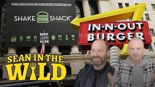 In-N-Out Vs. Shake Shack Taste Test with Tom Segura | Sean in the Wild