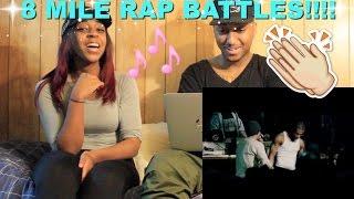 """Couple Reacts : """"8 Mile - Ending Rap Battles"""" Reaction!!!"""