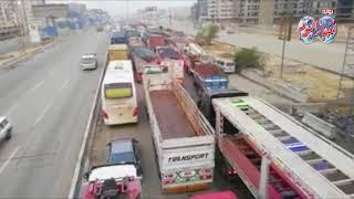 أخبار اليوم | 8 ساعات من الشلل التام على الطريق الدائرى بسبب الأمطار ...
