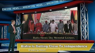 World Breaking News: Biafra Day Master Key For Independence.