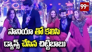 Viral Video: Ram Charan dances with Sania Mirza..