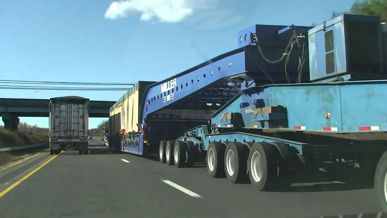 Biggest Semi Trailer I Have Ever Seen Youtube