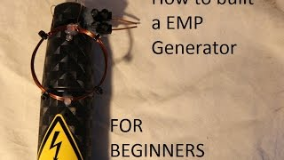 How to built EMP Generator with electronic Fly Swatter / EMP DIY