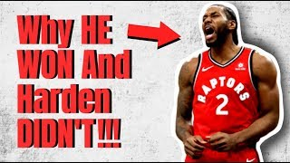 Why Kawhi Won A Championship, And Harden DIDN'T!