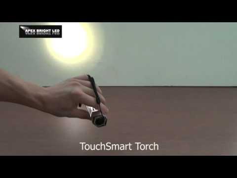 LED Torch Light - TouchSmart Torch